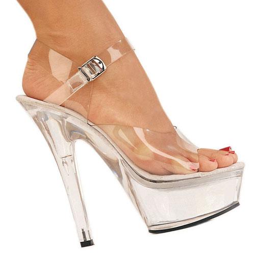 KISS-208 chaussures à plateformes pleaser femme taille 38 - 39